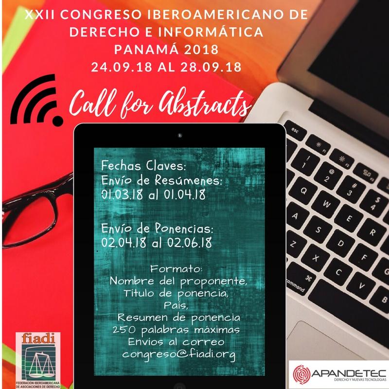 XXII Congreso Iberoamericano de Derecho e Informática – Panamá